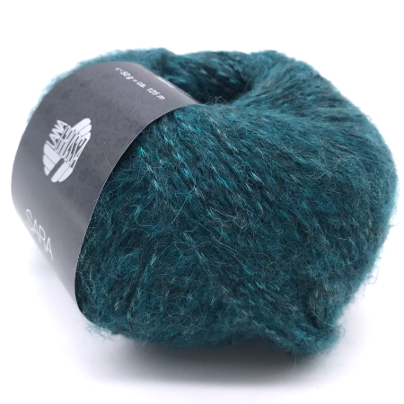 Пряжа для вязания и рукоделия Sara (Lana Grossa) цвет 011, 125 м