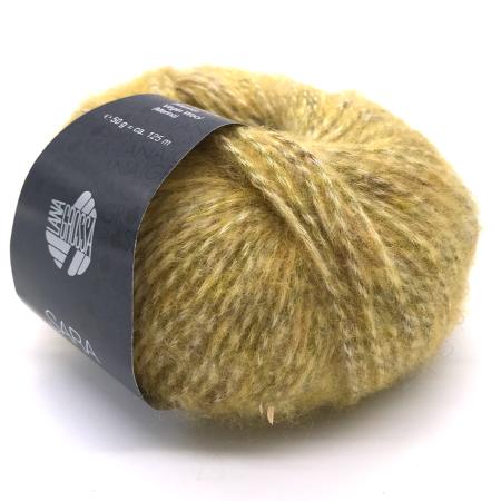 Пряжа для вязания и рукоделия Sara (Lana Grossa) цвет 013, 125 м
