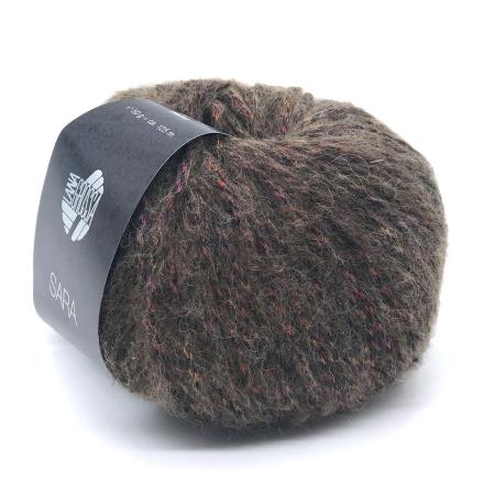 Пряжа для вязания и рукоделия Sara (Lana Grossa) цвет 005, 125 м