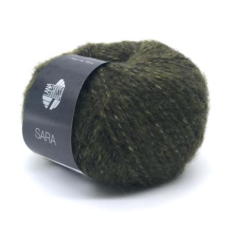 Пряжа для вязания и рукоделия Sara (Lana Grossa) цвет 014, 125 м