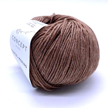 Пряжа для вязания и рукоделия Tencel-Merino (Katia) цвет 61, 135 м