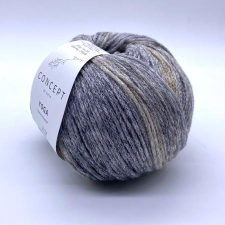 Пряжа для вязания и рукоделия Yoga (Katia) цвет 200, 200 м