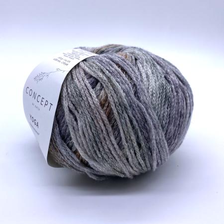 Пряжа для вязания и рукоделия Yoga (Katia) цвет 201, 200 м