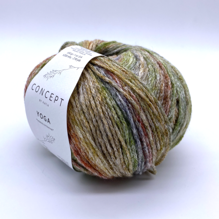 Пряжа для вязания и рукоделия Yoga (Katia) цвет 203, 200 м
