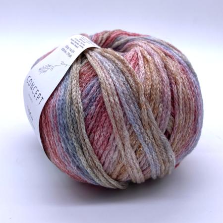 Пряжа для вязания и рукоделия Yoga (Katia) цвет 206, 200 м
