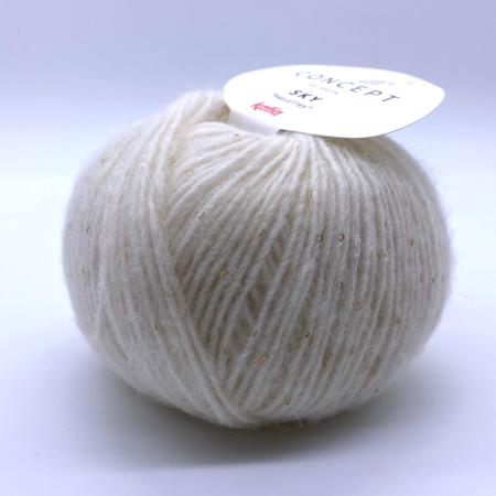 Пряжа для вязания и рукоделия Sky (Katia) цвет 80, 160 м