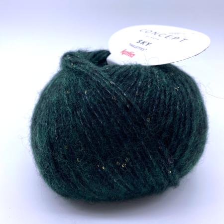 Пряжа для вязания и рукоделия Sky (Katia) цвет 85, 160 м