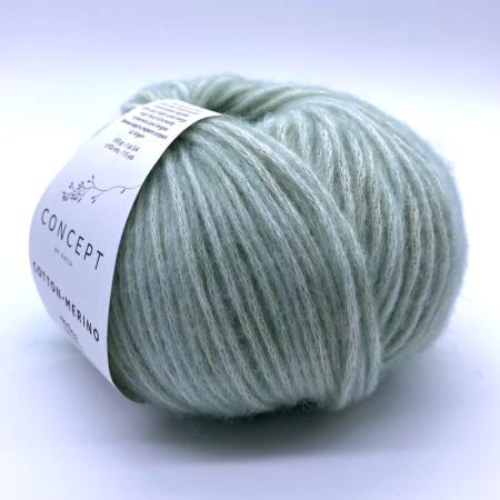 Пряжа для вязания и рукоделия Cotton Merino (Katia) цвет 132, 105 м