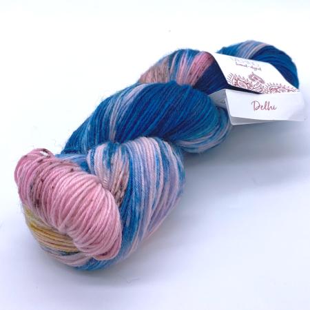 Пряжа для вязания и рукоделия Meilenweit Merino hand-dyed (Lana Grossa) цвет 303, 420 м