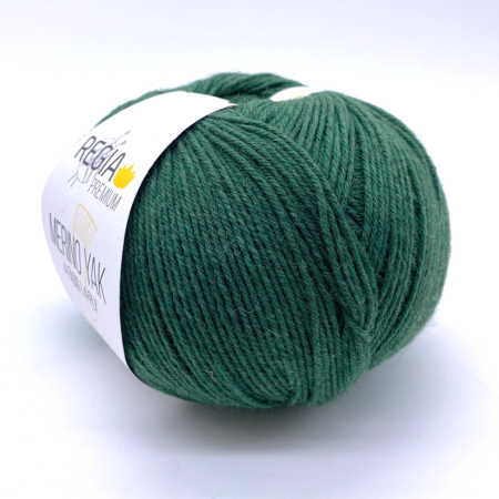 Пряжа для вязания и рукоделия Merino-Yak (Regia) цвет 07521, 400