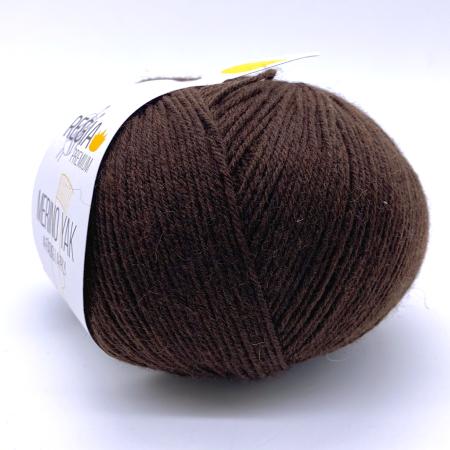 Пряжа для вязания и рукоделия Merino-Yak (Regia) цвет 07522, 400