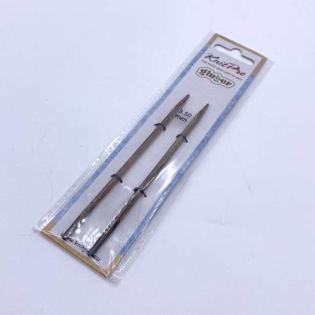 Спицы съемные Knit Pro Ginger 3.5 мм