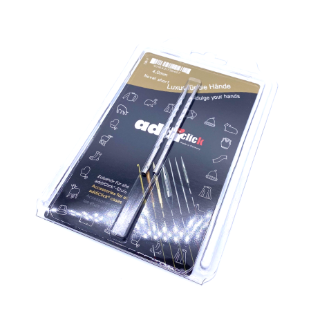 Спицы съемные укороченные Addi Novel 4 мм