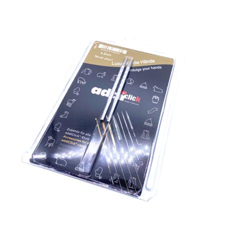 Спицы съемные укороченные Addi Novel 4.5 мм