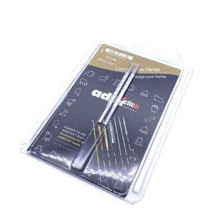 Спицы съемные укороченные Addi Novel 5 мм
