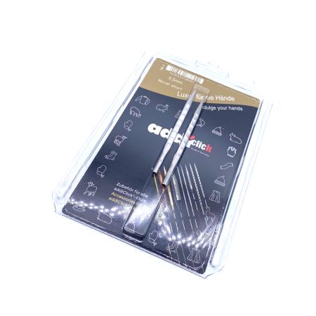 Спицы съемные укороченные Addi Novel 5.5 мм