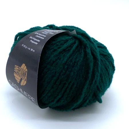 Пряжа для вязания и рукоделия Cashmere Moda (Lana Grossa) цвет 001, 90 м