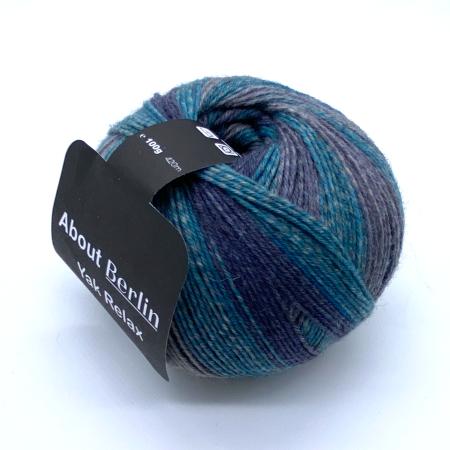 Пряжа для вязания и рукоделия About Berlin Yak Relax (Lana Grossa) цвет 662, 420 м