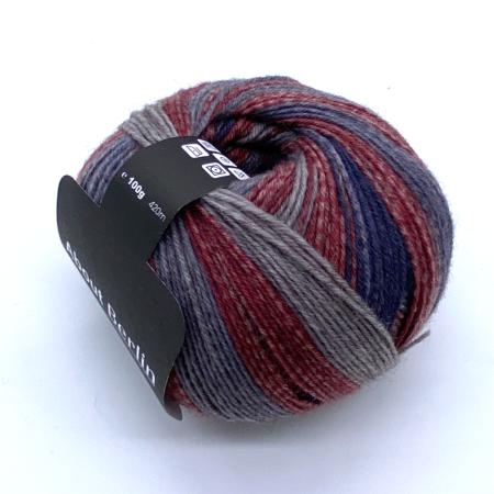 Пряжа для вязания и рукоделия About Berlin Yak Relax (Lana Grossa) цвет 663, 420 м