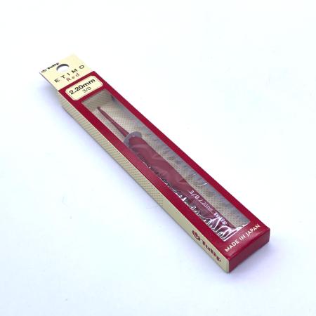 Крючок с ручкой Etimo Red, 2.2 мм мм (красный)