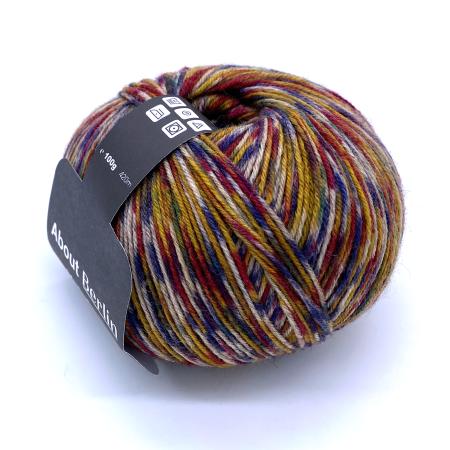 Пряжа для вязания и рукоделия About Berlin Yak Salt (Lana Grossa) цвет 621, 420 м