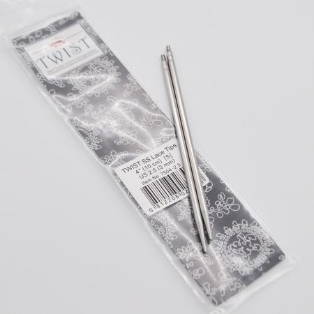 Спицы съемные металлические 10 см, 2.25 мм