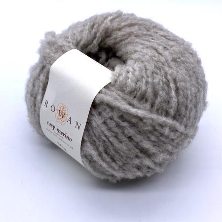 Пряжа для вязания и рукоделия Cosy Merino (Rowan) цвет 0001, 90 м