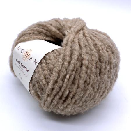 Пряжа для вязания и рукоделия Cosy Merino (Rowan) цвет 0002, 90 м