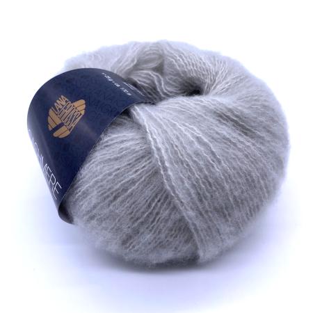 Пряжа для вязания и рукоделия Cashmere Garzato (Lana Grossa) цвет 005, 170 м