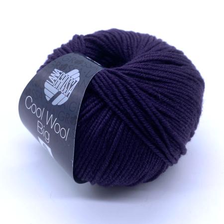 Пряжа для вязания и рукоделия Cool Wool Big (Lana Grossa) цвет 991, 125 м