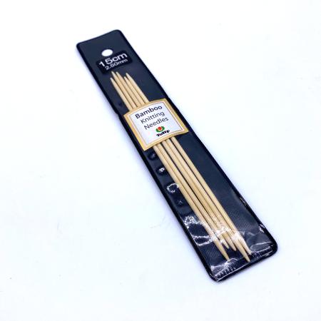 Бамбуковые чулочные спицы Tulip Bamboo, 15 см 2.5 мм