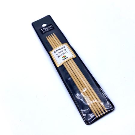 Бамбуковые чулочные спицы Tulip Bamboo, 15 см 2.75 мм