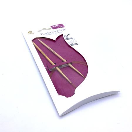 Круговые бамбуковые спицы Tulip Knina Swivel, 80 см 3.5 мм