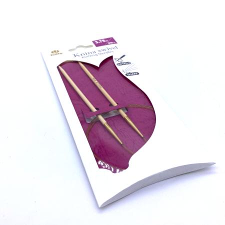 Круговые бамбуковые спицы Tulip Knina Swivel, 80 см 3.75 мм