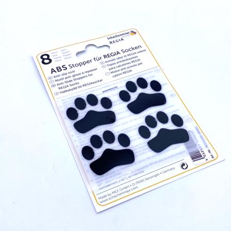ABS противоскользящие наклейки для носков, черные