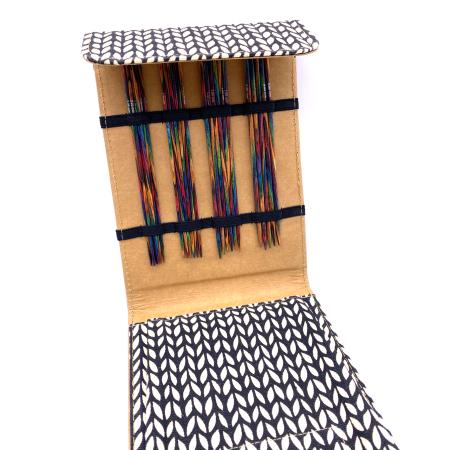 Набор деревянных чулочных спиц Lana Grossa, 15 см, бежевый