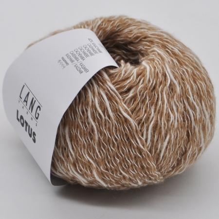 Пряжа для вязания и рукоделия Lotus (Lang Yarns) цвет 0039, 200 м
