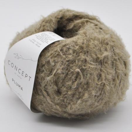 Пряжа для вязания и рукоделия Pluma (Katia) цвет 76, 150 м