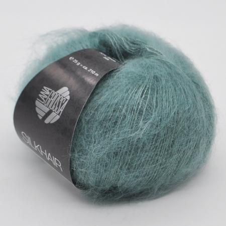 Пряжа для вязания и рукоделия Silkhair (Lana Grossa) цвет 155, 210 м