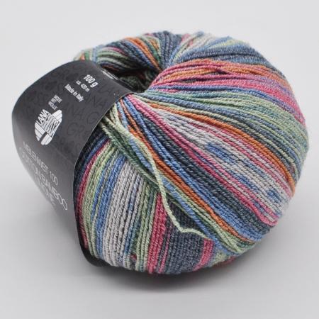 Пряжа для вязания и рукоделия Meilenweit 100 Cotton Bamboo Limon (Lana Grossa) цвет 2363, 420 м