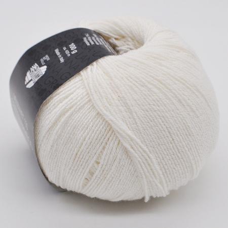 Пряжа для вязания и рукоделия Silkhair (Lana Grossa) цвет 0009, 420 м