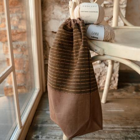 Проектный мешок, коричневый