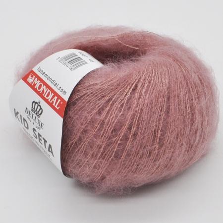 Пряжа для вязания и рукоделия Kid Seta (Mondial) цвет 337, 210 м
