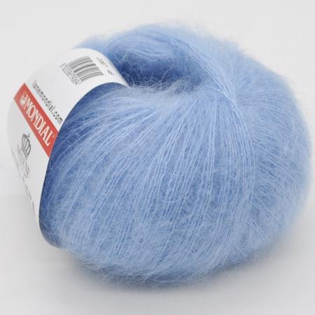 Пряжа для вязания и рукоделия Kid Seta (Mondial) цвет 397, 210 м