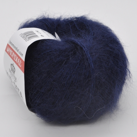 Пряжа для вязания и рукоделия Kid Seta (Mondial) цвет 417, 210 м