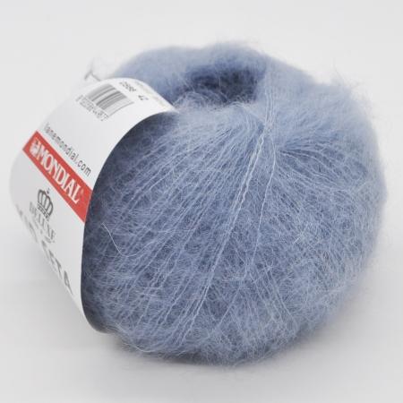 Пряжа для вязания и рукоделия Kid Seta (Mondial) цвет 514, 210 м