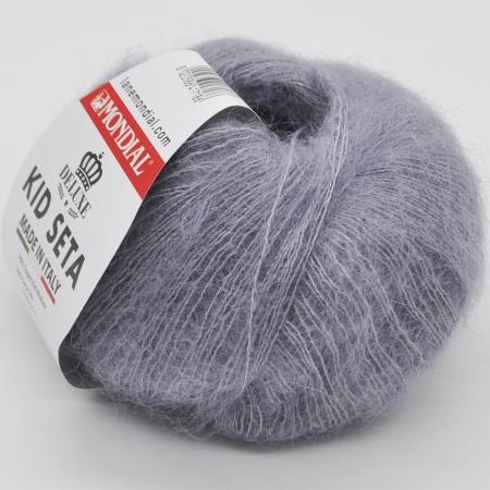 Пряжа для вязания и рукоделия Kid Seta (Mondial) цвет 566, 210 м