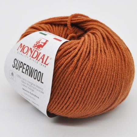 Пряжа для вязания и рукоделия Superwool (Mondial) цвет 362, 125 м