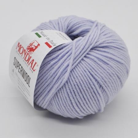 Пряжа для вязания и рукоделия Superwool (Mondial) цвет 363, 125 м