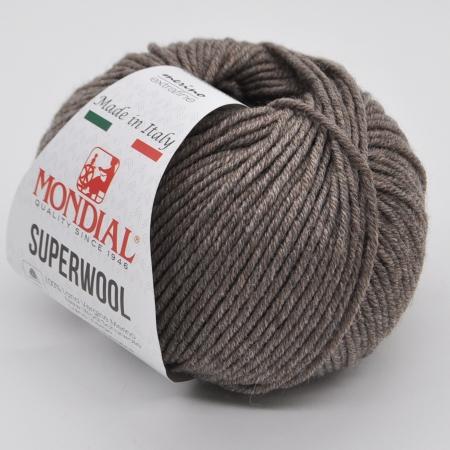 Пряжа для вязания и рукоделия Superwool (Mondial) цвет 500, 125 м